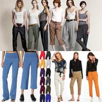 Какие брюки подходят вам лучше всего по вашему силуэту?